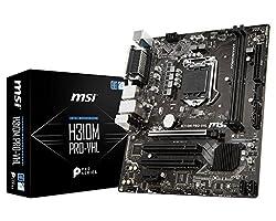 MSI H310M Pro-VHL 8th Gen Intel Processors for LGA 1151 Socket