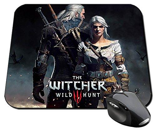 Preisvergleich Produktbild The Witcher 3 Wild Hunt Geralt Ciri Mauspad Mousepad PC