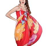 Vobaga Serviette de plage Jupe Enveloppe mousseline en soie de Pareo Foulard Wrap pour Femme