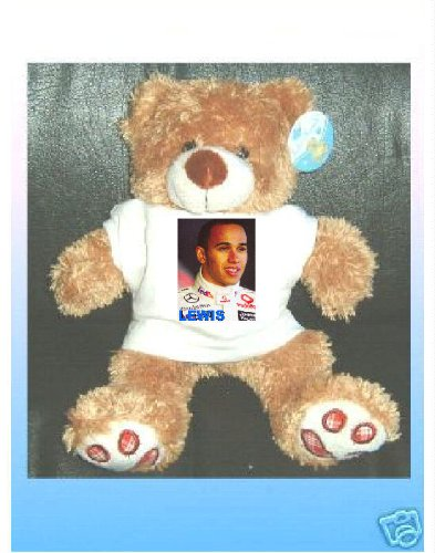 Books by the Sea LEWIS HAMILTON TEDDY BEAR