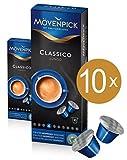 MÖVENPICK CLASSICO LUNGO Kaffeekapseln 10 x 10 Kapseln