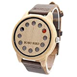 GXS madera de bambú // Relojes relojes de cuarzo / relojes de moda mesa de madera / de la salud