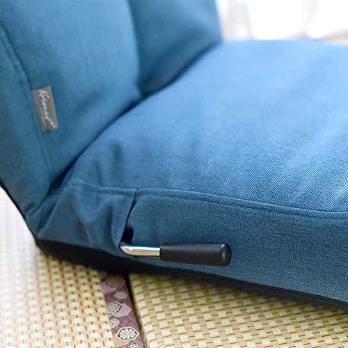 JIE Schlafsaal-Bett-Stuhl, Student-fauler Stuhl, College-Schlafsaal-Artefakt-faules Sofa zurück Faltbarer einzelner Stuhl-Bett-Sich hin- und herbewegende Fenster-Couch,Blau