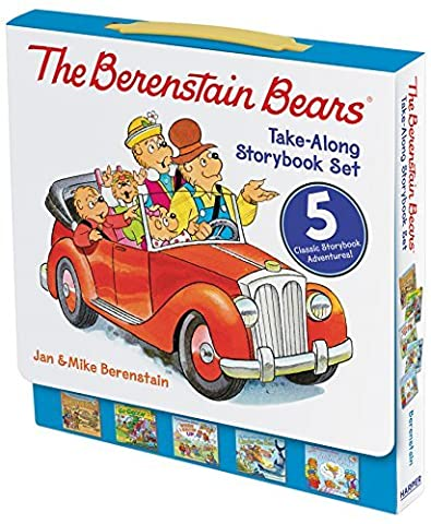 The Berenstain Bears Take-Along Storybook Set: Dinosaur Dig, Go Green, When I Grow Up, Under the Sea, The Tooth Fairy by Jan Berenstain (2016-05-03)