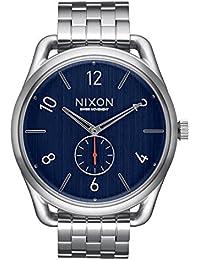 Nixon baycliffe-reloj analógico de cuarzo de acero C45 SS A951-307-00