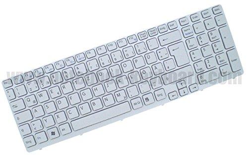 Tastatur Sony Vaio SVE151G11M SVE151J11M SVE151D11M SVE151 SVE1511B1EB DE Weiss