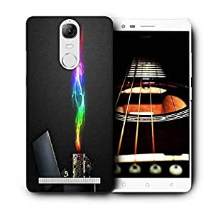 Snoogg Zippo Printed Protective Phone Back Case Cover for Lenovo K5 Note
