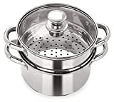Best Cook Steamers - Pristine Stainless Steel Induction Base Tri Ply 2 Review