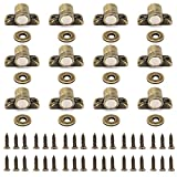 IGNPION - Lote de 12 cierres magnéticos para puertas de armario o armarios de cocina
