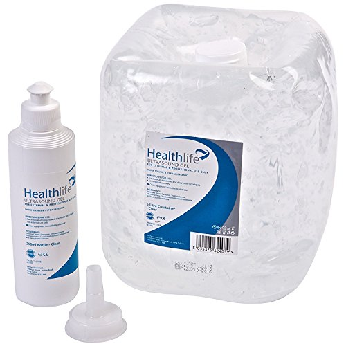 Healthlife Gel ultrasonido con botella de recambio