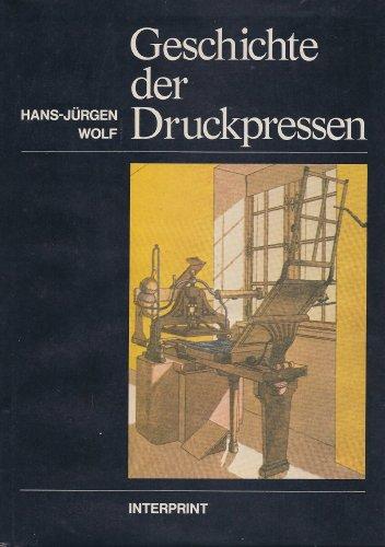 Geschichte der Druckpressen