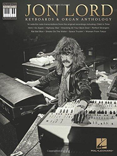 Jon lord - keyboards & organ anthology clavier