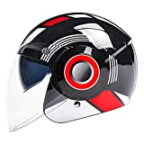 ZYT Kinderfahrradhelm Kleinkindhelm Verstellbarer Kinderhelm CPSC-Zertifiziert Alter 3-8 Jahre Alt Jungen Mädchen Multi-Sport Sicherheit Radfahren Skating Roller Helm,Red