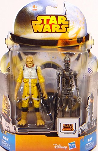 Bounty Hunter Bossk & IG-88 Episode V Mission Series MS11 Star Wars Rebels - Saga Legends 2015 von Hasbro / Disney