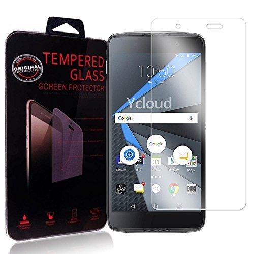 Ycloud Panzerglas Folie Schutzfolie Bildschirmschutzfolie für BlackBerry DTEK50 screen protector mit Härtegrad 9H, 0,26mm Ultra-Dünn, Abger&ete Kanten