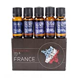 Mystic Moments Gift Starter Pack of 5x10ml Essential Oils Of France