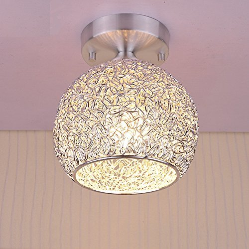 Modern-Ceiling-Light-Ball-Mini-Ceiling-Lamp-with-Aluminum-Shade-for-Hallway-Corridor-Aisle-Stairs-BedroomHeight-787-Inch