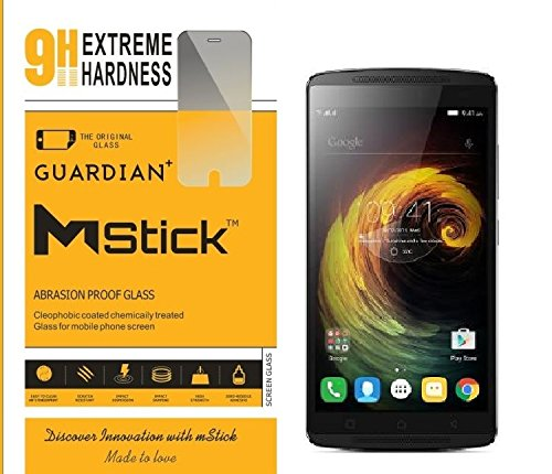 mStick Guardian + 0.2mm Anti Explosion Tempered Glass , 9H Hardness Ultra Clear, Anti-Scratch For Lenovo K4 Note  available at amazon for Rs.76