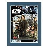 Topps Star Wars Rogue One (Caja De Refuerzo Completa) 50 Paquetes De Pegatinas