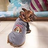 TYIOWALI Pet-Bekleidung Sanitär Kleidung Bulldog Teddy Hund Kleidung Warm Weich