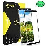 CRXOOX Panzerglas Schutzfolie für Samsung Galaxy Note 9 Panzerglas [3D Gebogene Kante] [0,3 mm Ultradünn] [Anti-Scratch] Einfach Installieren und Keine Blase Panzerglasfolie für Samsung Note 9