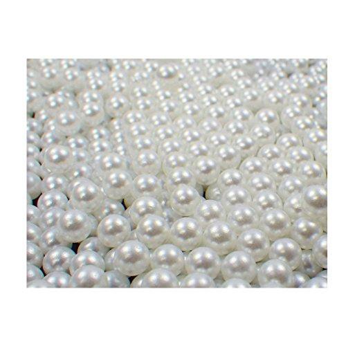 Perline sfuse in plastica, 1000 pezzi, ottima lavorazione, perline decorative, senza foro, da 5-8mm, colori vari, Plastica, S-dpl-5mm-43, 5 mm