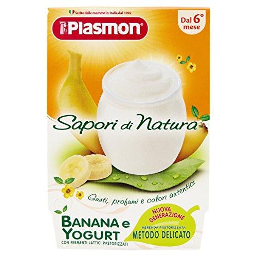 Plasmon Omogeneizzato di Yogurt Banana Sdn - 24 Vasetti da 120 gr