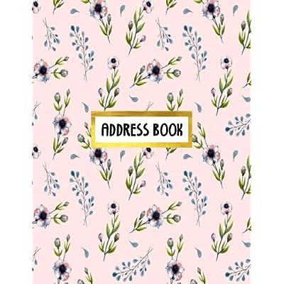 Address Book: Address Journal Name Address E-mail Telephone Organizer Size 8.5x11 Large