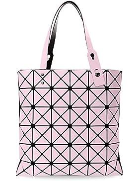 Damentasche Shopperbag 3D dreidimensional Henkeltasche geometrischen Muster MUST HAVE