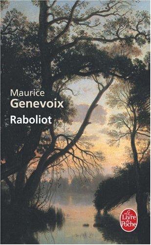 Raboliot par Maurice Genevoix