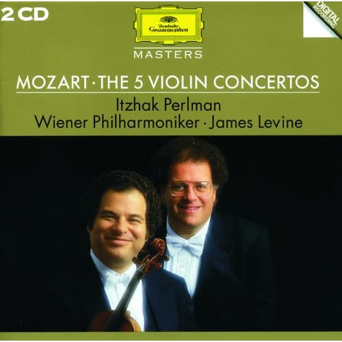 Mozart: Adagio For Violin And Orchestra In E, K.261 - Cadenza: Itzhak Perlman - Adagio