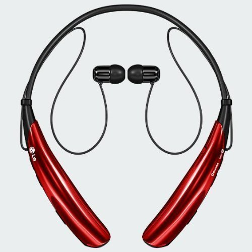 LG Tone Pro HBS-750 Bluetooth Stereo Headset (Red)