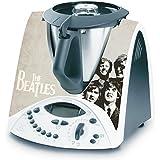 Decusto - Adhesivo En Vinilo Para Decorar Tu Thermomix Tm31 Modelo -Beatles Vintage
