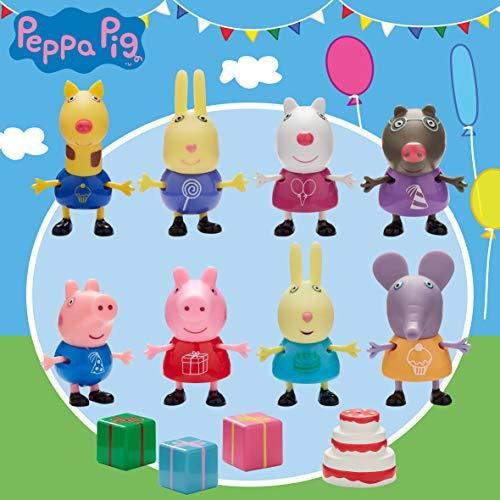 Peppa Pig 6927 Friends Party-Set, Mehrfarbig
