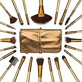Allin Exporters Zureni 24 Pieces Professional Makeup Brush Set With Travel And Carry Case Travel Makeup Brush...