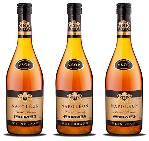 Napoleon le cuvier Weinbrand 36% (3 x 0.7 l)