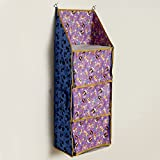 #10: Archana Multipurpose Foldable Kids Hanging Organizer (Purple)