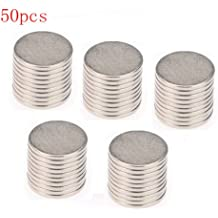 Big Bargain 50x10mm x 1mm Disc Rare Earth Neodymium Super strong Magnet N35 Craft Models by KTrade Pack