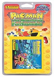 Panini - Pac-Man y las aventuras fantasmales, blíster con 10 sobres (002843BLIE)