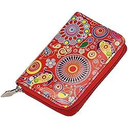 Joe Cool diseño de cachemira de sonal brillante (rojo) fabricado con Pu