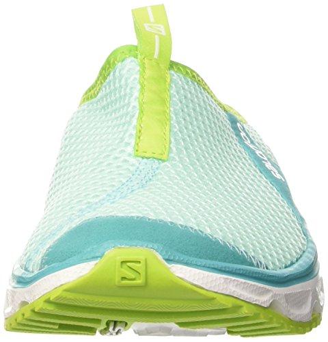 Green 0 Bleu Rx Aruba Blue de Chaussures 3 Lime Slide White Trail Femme Salomon qatOq