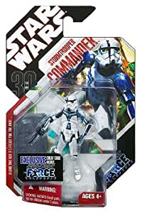 STAR WARS FIGURINE STORMTROOPER COMMANDER - THE FORCE UNLEASHED (30th)