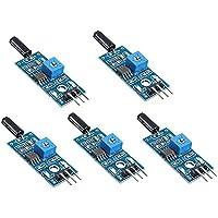 ARCELI 5PCS Hochempfindliches Vibrationssensormodul SW-18010P Alarmsensormodul