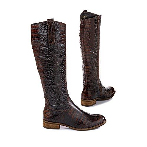 31 Gefüttert amp; Classics Shoes Stiefel 639 Kalt Gabor Langschaft Damen Teak Stiefeletten 57xUXwCq