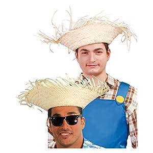 Partido-de-Hawaii-sombrero-de-paja