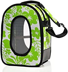 """A&E Cages 18.5""""x13.5""""x9"""" Soft Sided Travel Bird Carrier Large Green by A&E Cage Company"""