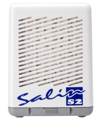Salin S2 - Natursalz Luftfiltersystem, Salzlufttherapie Gerät, Pollenfilter, Staubfilter, Luftreiniger