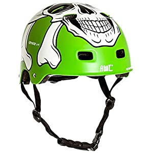 51WvRAP99GL. SS300 AWE MEET YOUR MAKER BMX Casco verde 55-59cm SOSTITUZIONE DI CRASH GRATIS 5 ANNI *