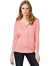 TOM TAILOR Damen Langarmshirt Lovely Blouse Shirt