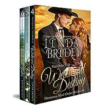 Montana Mail Order Bride Box Set (Westward Series) - Books 4 - 6: Historical Cowboy Western Mail Order Bride Bundle (Westward Box Sets Book 2) (English Edition)
